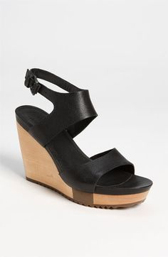 black sandals by ECCO... most comfortable shoes you could ever wear.