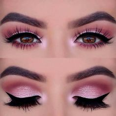 21 Insanely Beautiful Makeup Ideas for Prom: #8. PINK SMOKEY EYE