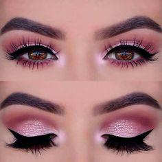 21 Insanely Beautiful Makeup Ideas for Prom: #8. PINK SMOKEY EYE