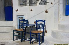 Terrasse a Pyrgos - Santorin - Grece