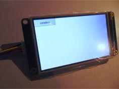 Grafische Oberflächen für Mikrocontroller mit TFT-Touchpanels von Nextion