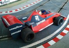 """Os presente en este artículo otro de mis clasicazos de #Scalextric: el Brabham BT 46 <Alt=""""Brabham BT 46 de Scalextric"""">"""