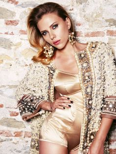 Scarlett Johansson in Vogue Russia,