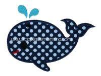 Whale 3 - Applique Momma