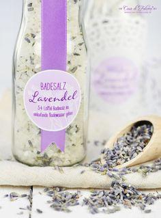 Lavendel Badesalz selbstgemacht