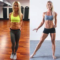 Gym Motivation: Danish Fitness Model Mette Lyngholm Workout Routine.