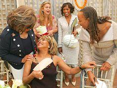 Beauties: Diahann Carroll, Tina Turner, Darnell Martin, Angela Bassett and Susan Taylor