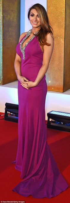 Pin for Later: All the Must-See Photos From the National TV Awards Red Carpet Luisa Zissman Georgie Porter, National Tv Awards, Fashion Fail, Hollywood Celebrities, In The Flesh, Red Carpet Fashion, Bright, Gowns, Vestidos
