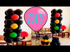 Semáforo de Balões Passo a Passo - YouTube