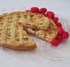 Crostata salata ricotta speck e pomodorini ricetta di Teutonico.