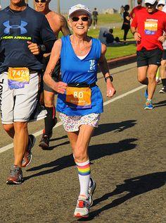 Anne Garrett Sets 80-84 Half Marathon American Record | Runner's World & Running Times