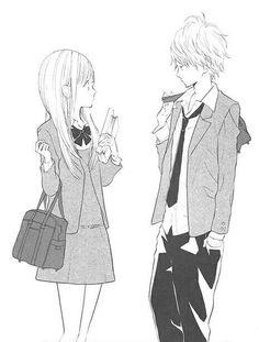 Hanagimi to koisuru watashi #mangacap #manga