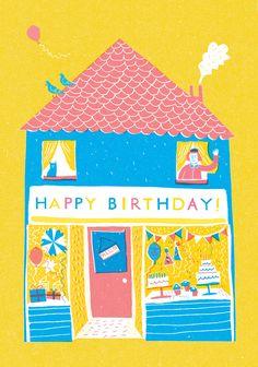 Happy Birthday Shop - Louise Lockhart | Illustration | Design | The Printed Peanut