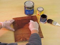 DIYNetwork.com provides the lowdown on the basic products you'll need for your next refinishing project.