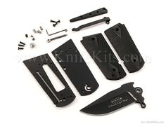 *MDR1911 - Assisted Opening - Parts Kit - (w/Black Handles)