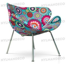 .: SILLON PAULIN DISEÑO FLOWERS.: