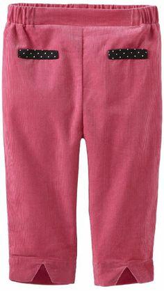 Amazon.com: Isaac Mizrahi Baby-Girls Infant Brushed Corduroy Pant With Elastic Waist, Pink, 12 Months: Clothing