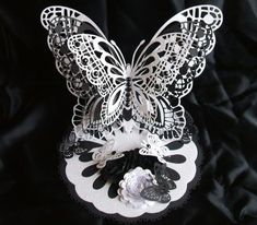 Card Gallery - 3D Standing Butterfly CraftROBO/Cameo