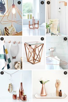 I still love copper accents and have an order of spray paint on the way so I can get started on my own projects!