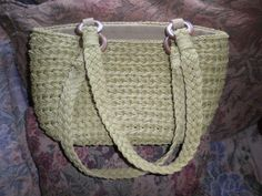 Cappelli Straworld Inc. Handbag Shoulder Tote Bag Sage Green Purse Casual  #CappelliStraworldInc #ShoulderBag