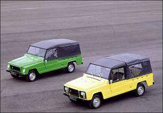 Renault 4 et 6 rodéo - 1976