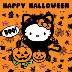 Sanrio: Hello Kitty:) Happy Halloween!