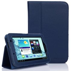 looking for the SupCase Samsung Galaxy Tab 2 7.0 GT-P3113 Slim Fit Leather Case with Stand – Deep Blue