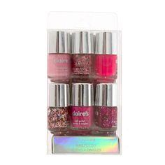 Shades of Pink Nail Polish Set of 6