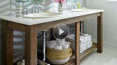 Watch Modern & Rustic Budget Bath Makeover in the Better Homes and Gardens Video