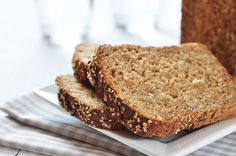 Gluten-Free Sandwich Bread Recipe  3 cups Gluten-Free Flour Mix 2 teaspoons xanthan gum 2 tablespoons ground flax meal 1 tablespoon active dry yeast 1/2 teaspoon salt 2 large eggs 1/2 cup Almond Milk  1/2 cup water 1/4 cup Date Syrup or honey  1 teaspoon apple cider vinegar