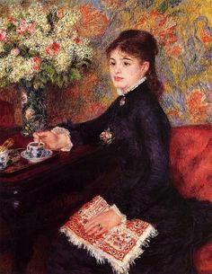 The Cup of Chocolate - Pierre Auguste Renoir - 1878