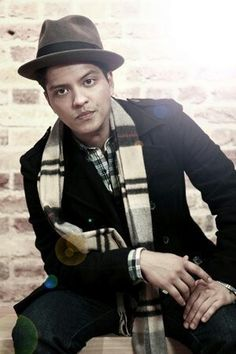 Bruno Mars....great singer