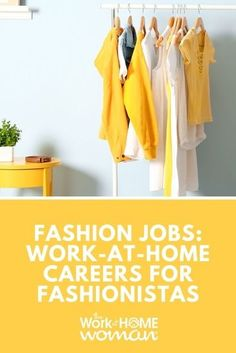 Fashion Jobs: Work-at-Home Careers for Fashionistas - The Effective Pictures We Offer You About what should i do with my life career quiz A quality picture Work From Home Careers, Legitimate Work From Home, Work From Home Tips, Fashion Jobs, Style Fashion, Fashion Design Jobs, Fashion Quiz, Selling Used Clothes Online, Career Quiz