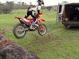 Loading your dirtbike doesn't have to be boring! TC Trickz - Trial X Shows & Offroad Coaching