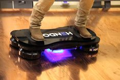 Good news, Futurists and Marty McFly wannabees—last month, Hendo Hoverboards, the world's first real hoverboard was successfully funded on Kickstarter, and is scheduled to be ready on October actual hover crft that comes off the ground. Futuristic Technology, Cool Technology, Technology Gadgets, Latest Technology, Medical Technology, Energy Technology, Gadgets And Gizmos, New Gadgets, Cool Gadgets