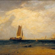 Joseph Mallord William Turner - Fishing upon the Blythe-Sand, Tide Setting In, Tate Britain