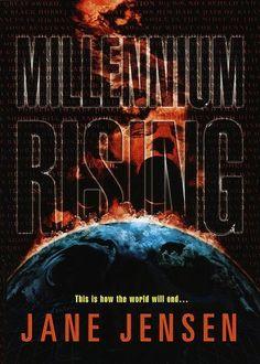 Publication: Millennium Rising  Authors: Jane Jensen Year: 1999-10-00 ISBN: 0-345-43034-4 [978-0-345-43034-2] Publisher: Del Rey / Ballantine Cover: John Picacio