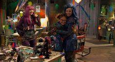 Dove Cameron as Mal Sofia Carson as Evie and Anna Cathcart as Dizzy in Descendants 2 #DisneyChannel