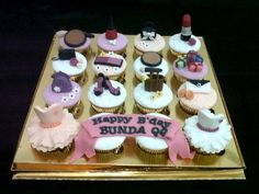 Fashion Cupcakes #by SM Cookies and Cakes