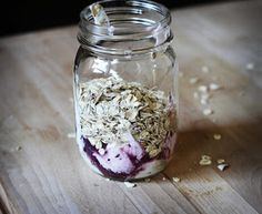 CremedelaCrumb: Blueberry Muffin Overnight Oats