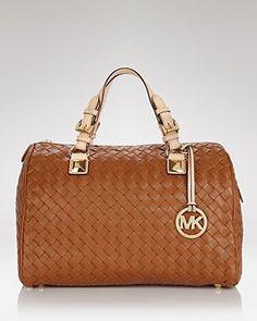 MICHAEL Michael Kors Satchel - Large Leather | Bloomingdale's