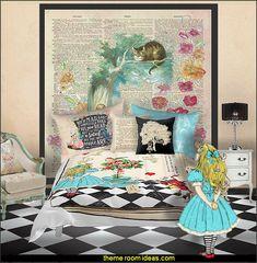 Genial Alice In Wonderland Bedroom Decor   Alice In Wonderland Themed Rooms    Design An Alice In Wonderland Bedroom   Alice In Wonderland Bedroom Ideas    Alice In ...