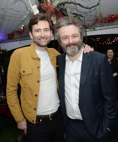 David Tennant attended the SXSW Film Festival in Austin, Texas yesterday to take part in a special Good Omens event. Good Omens: The N. David Tennant, Michael Sheen, Tom Hiddleston, Dr Who 11, Good Omens Book, Rory Williams, British Actors, Attractive Men, Doctor Who