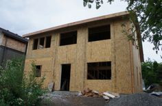 Premier SIPs in the News | Premier SIPS: Structural Insulated Panels ... Oriented Strand Board, Structural Insulated Panels, Magnesium Oxide, Polyurethane Foam, Building Materials, Honeycomb, Plywood, Cabin, News