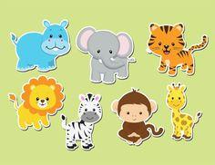 Safari zebra, giraffe and lion – Page 658229301759300131 – BuzzTMZ Jungle Theme Cakes, Safari Theme Birthday, Baby Boy 1st Birthday, Jungle Party, Safari Party, Safari Animals, Baby Animals, Cupcakes Safari, Noahs Ark Party