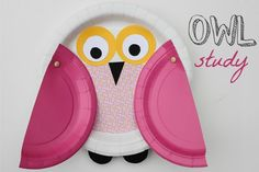 Learn to study owls and make a cool craft with your kids.