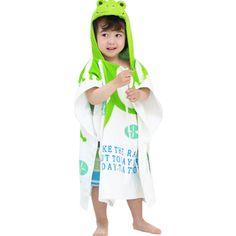 Childrens Cute And Fashion Style Hooded Bath Towel Bathrobes Frog  Asciugamani Incappucciati 1813162fd