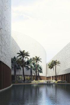 Noble quran oasis competition, Al Madinah Province, Mecanoo Architecten