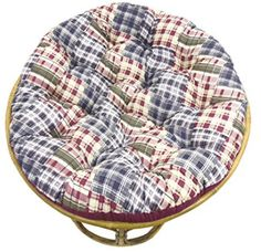 Add a pop of color to your favorite papasan chair with the Orient Originals Printed Patchwork Papasan Cushion . This soft cotton and polyester cushion. Papasan Cushion, Papasan Chair, Chair Cushions, Wooden Dining Chairs, High Back Dining Chairs, Bar Chairs, Desk Chairs, White Desk Chair, Big Comfy Chair
