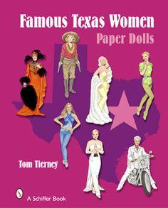 #paperdolls #texaswomen #texas
